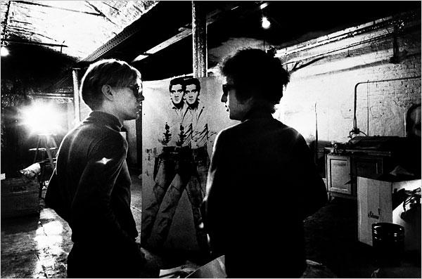 Andy Warhol & Bob Dylan