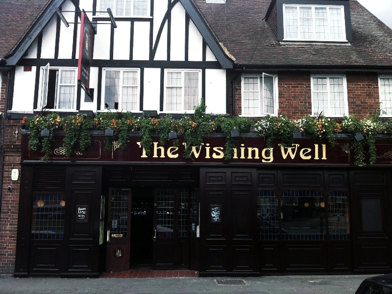 The Wishing Well pub in Hayes