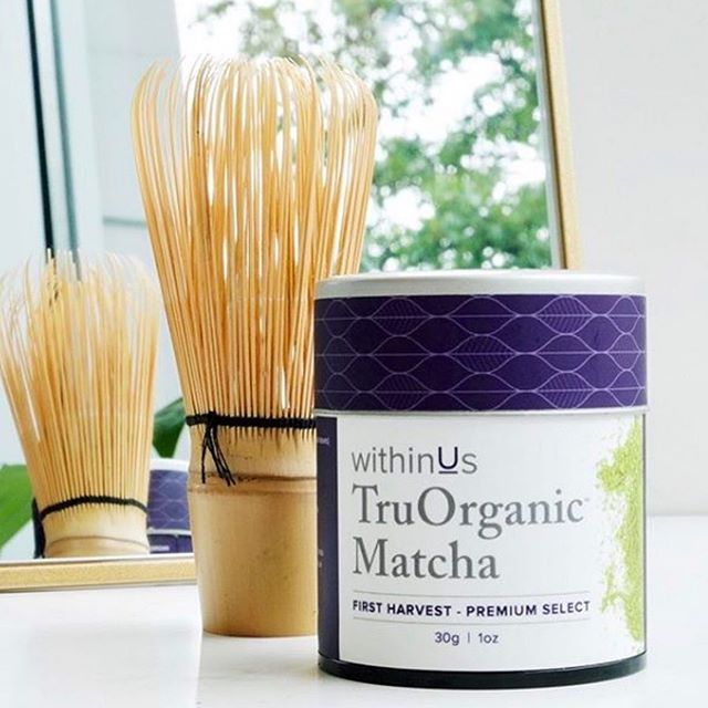 "I love you so MATCHA 💜⠀⠀ ⠀⠀repost: @withinusnatural  TruFact: withinUs TruOrganic Matcha is certified organic, first harvest, and grade A+ (technically, there is no ""ceremonial grade matcha"" in Japan). It is exclusively prepared in small batches for withinUs at one of the most renown tencha farms in Japan. ⠀ ⠀ The superior quality of our matcha is also delicious cold/iced, while boasting many health benefits. 🌱⠀ ⠀ Simply the best. ⠀ ⠀ ⠀"