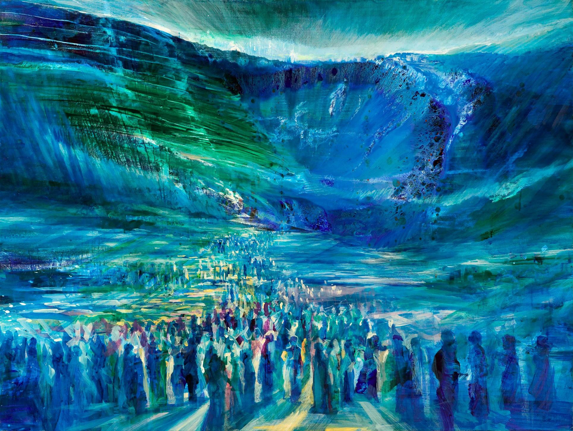 Crossing the Red Sea by Yoram Raanan