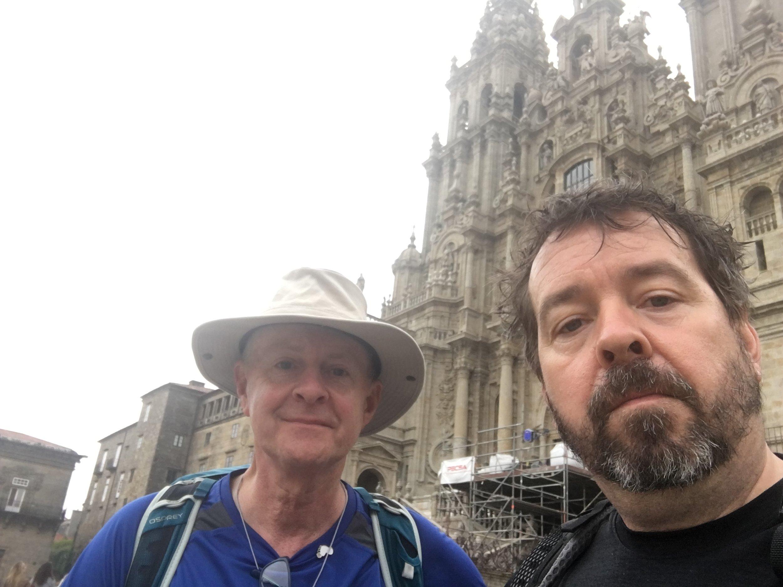 Arrival at Santiago de Compostela