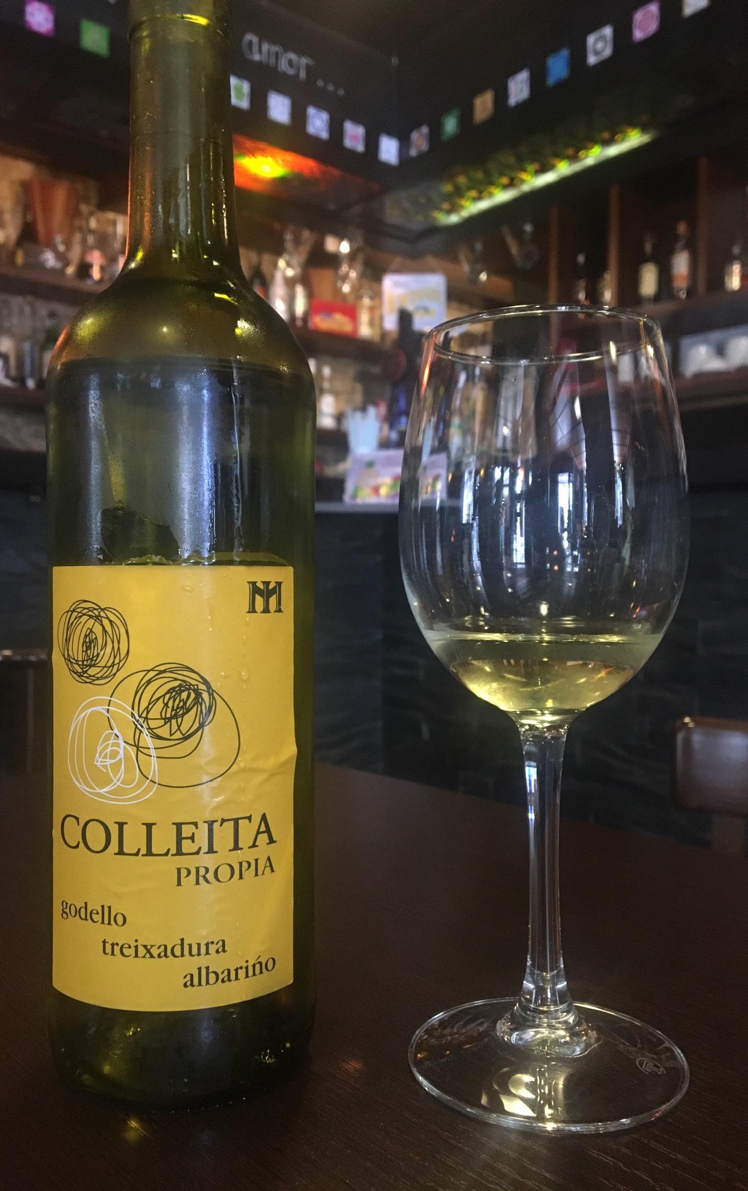 Local wine.