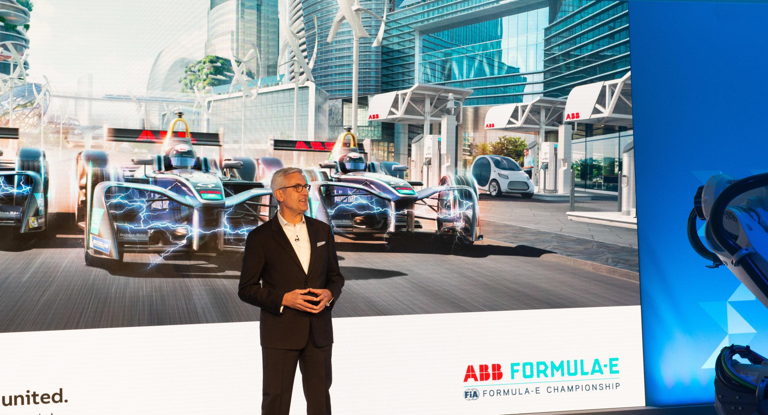 Ulrich Spiesshofer, Head Of ABB