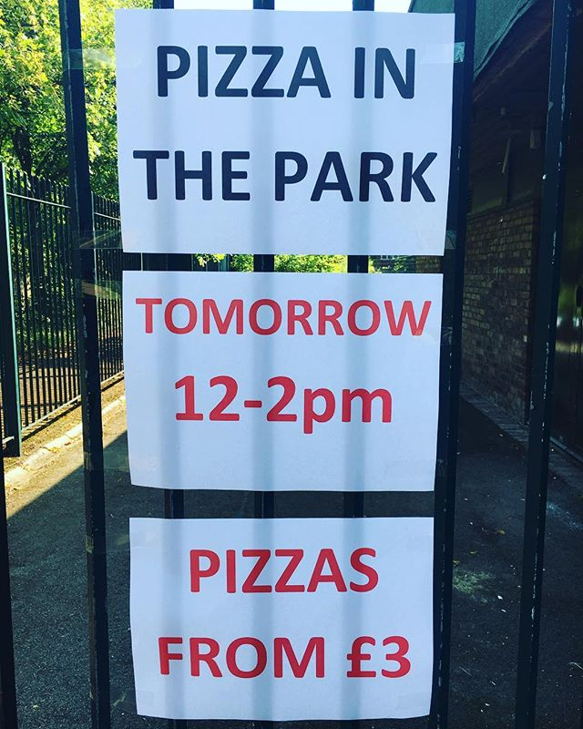 Yes, even after we've read the weather forecast! 😁 Come on, we're Geordies! See you at 12 #PizzainthePark #MadeinElswick