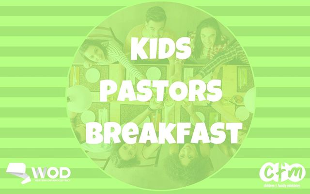 KIDS PASTORS: Don't forget to sign up for our FREE breakfast at the WOD Conference! Register for the event, then follow the link in our bio to reserve your spot! Registrations for breakfast are due this coming Friday, September 20th.