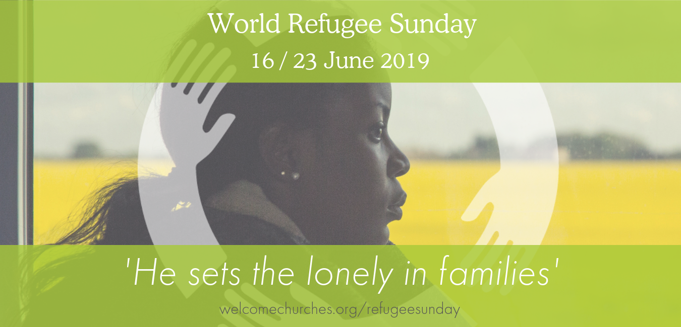 Sign up to receive our Refugee Sunday resources  here .