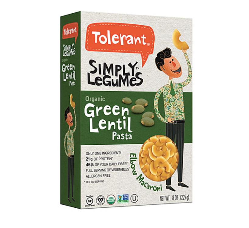Green Lentil Pasta