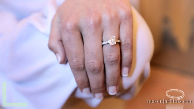 Sidni's engagment ring