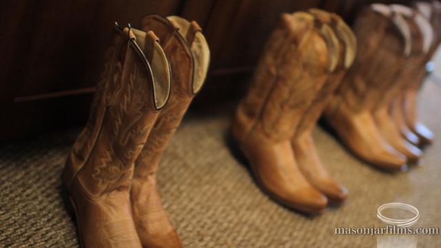 Bridesmaids boots