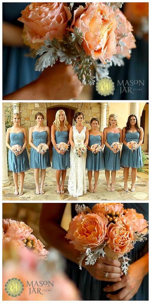 Escondido Horseshoe Bay Wedding Pic 01 pink and grey bouquet copy
