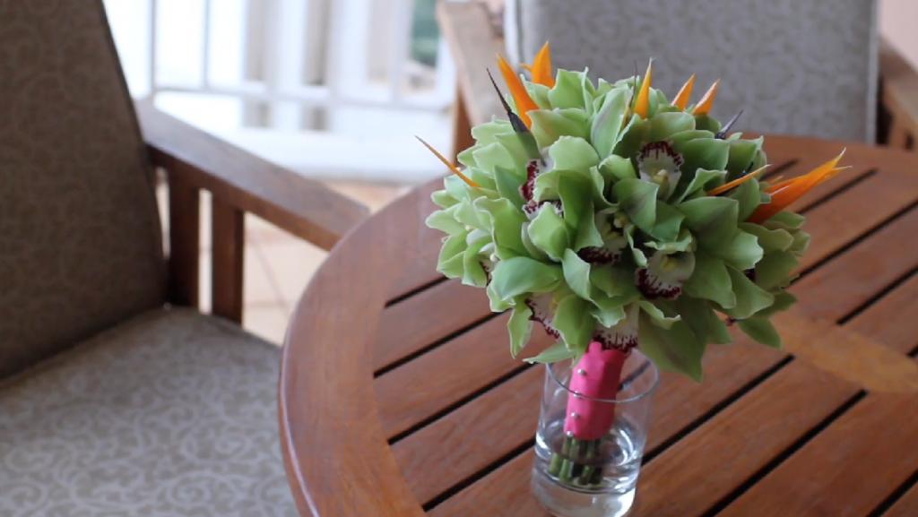 Maui Hawaii Grand Wailea Destination Wedding Pic 16 flower