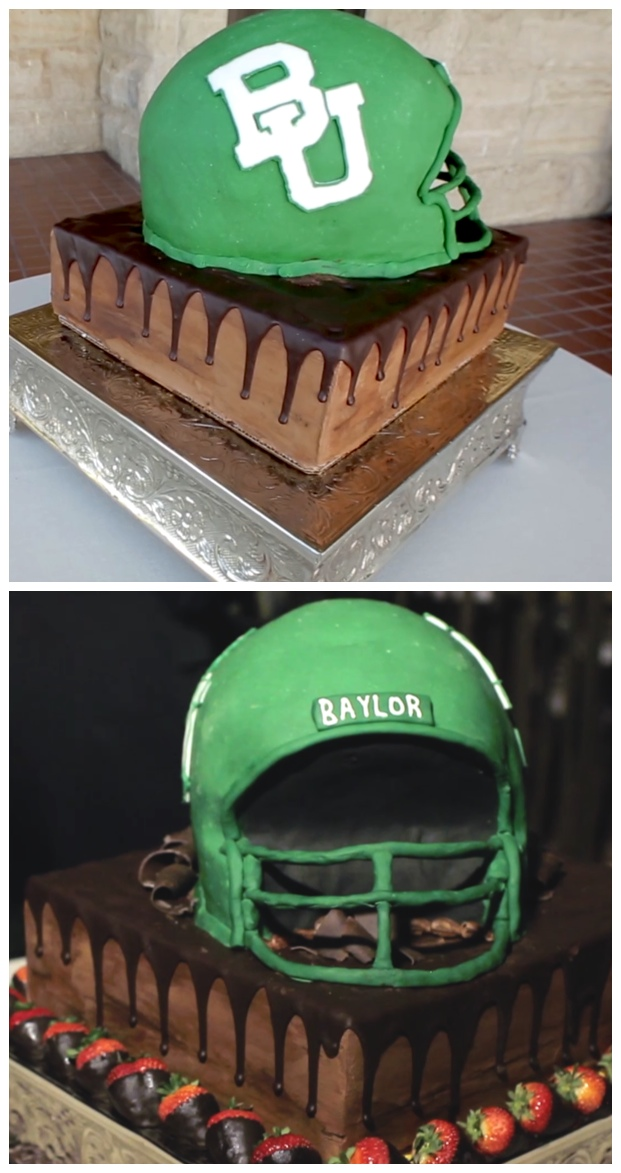 groom cake baylor university