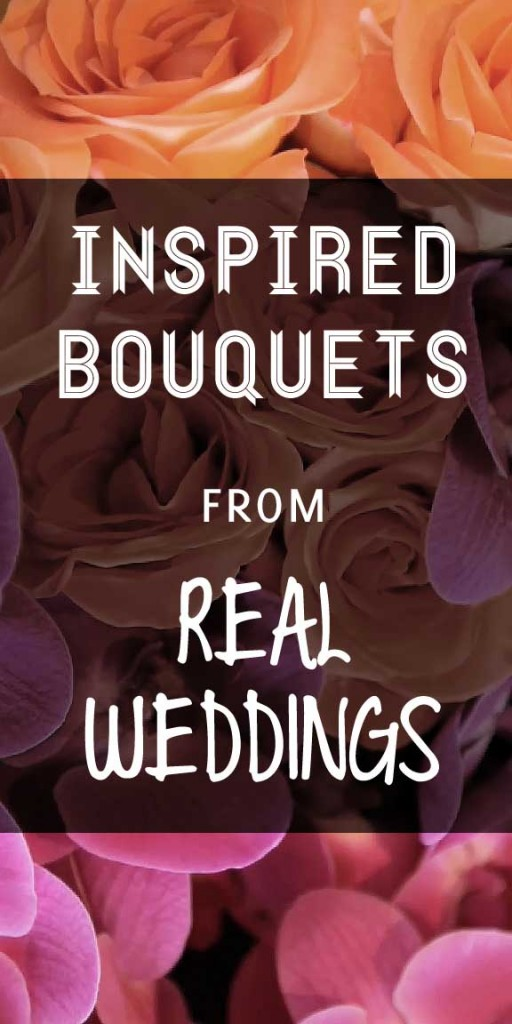 inspired bouquets from real weddings
