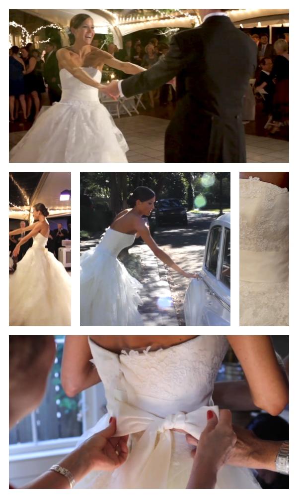new orleans bride wedding vera wang dress pic 01