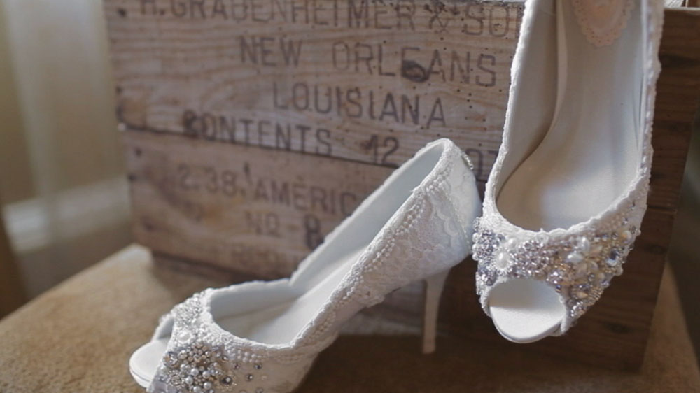 new orleans louisiana jimmy choo wedding shoes pic 01