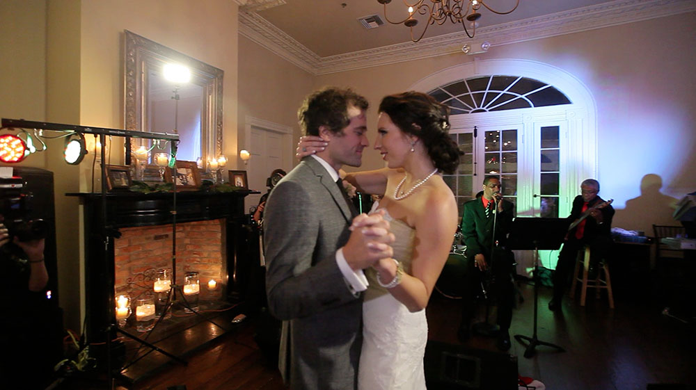 new orleans vintage lace wedding video photo 02