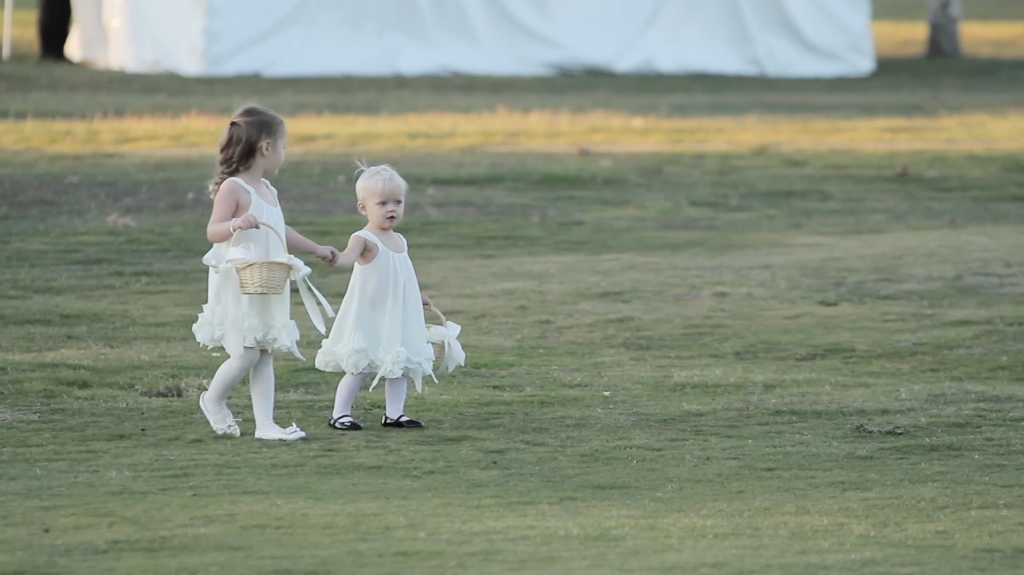 Riverhill Country Club Viridian Wedding Pic 19 flower girl
