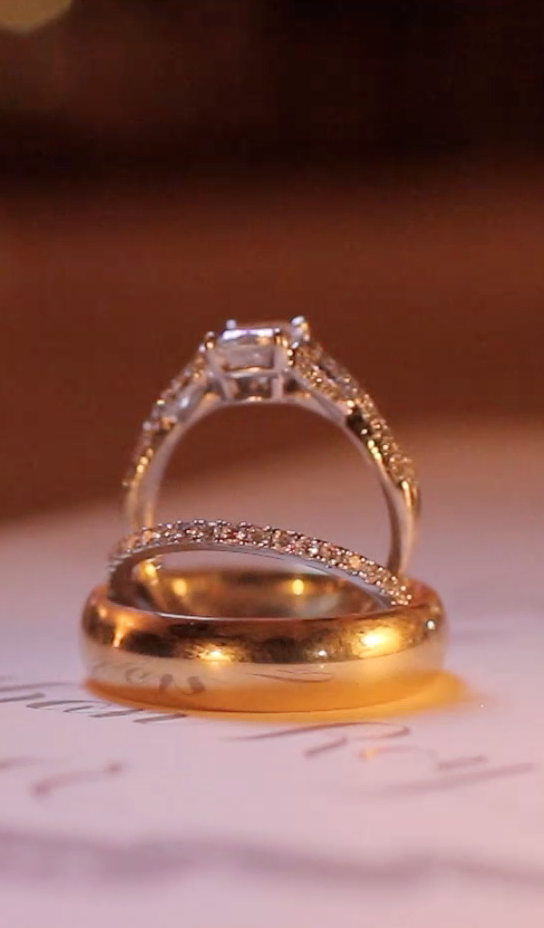 Riverhill Country Club Viridian Wedding Pic 38a wedding ring set