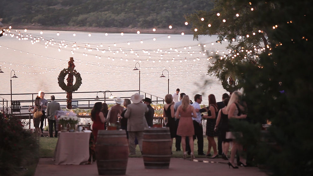 Tara Wilson modern rustic possum kingdom wedding video photos 40
