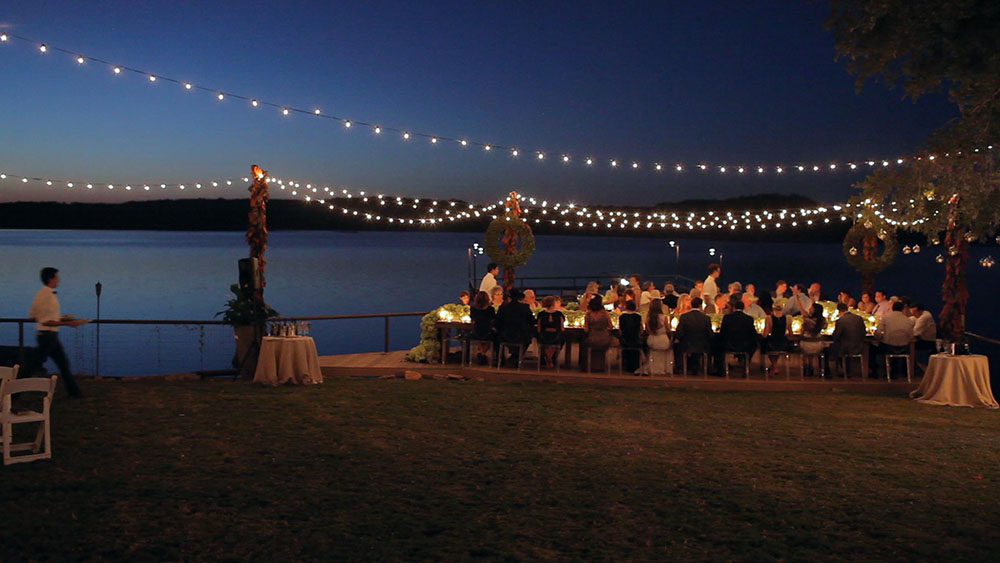 Tara Wilson modern rustic possum kingdom wedding video photos 45