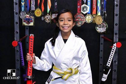 Megan, Yellow/White Belt    Favorite Move:    Goals:    Hobbies:    Achievements: