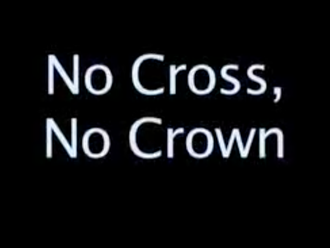 No Cross, No Crown (documentary)
