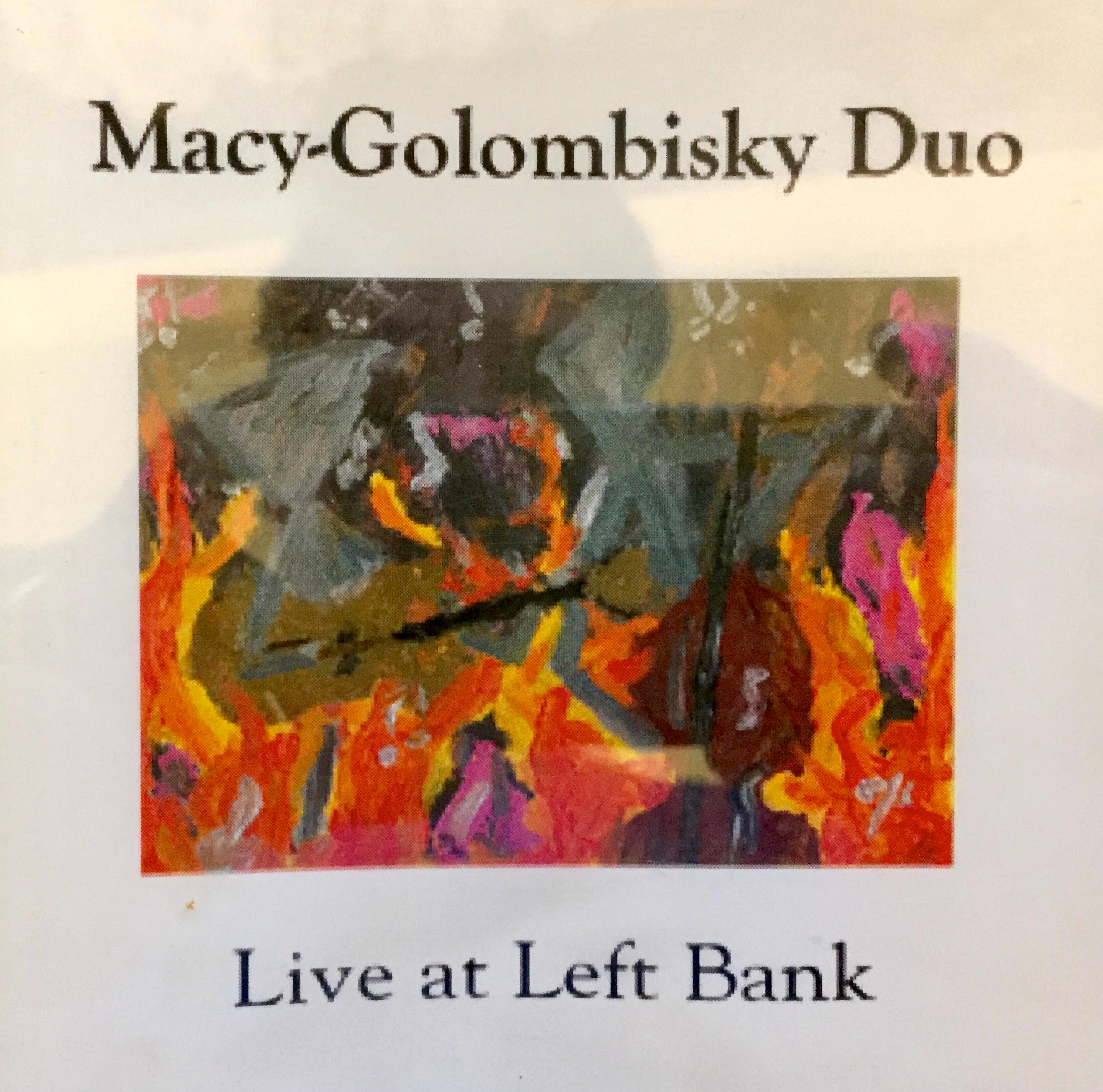 Macy-Golombisky Duo | Live at Left Bank