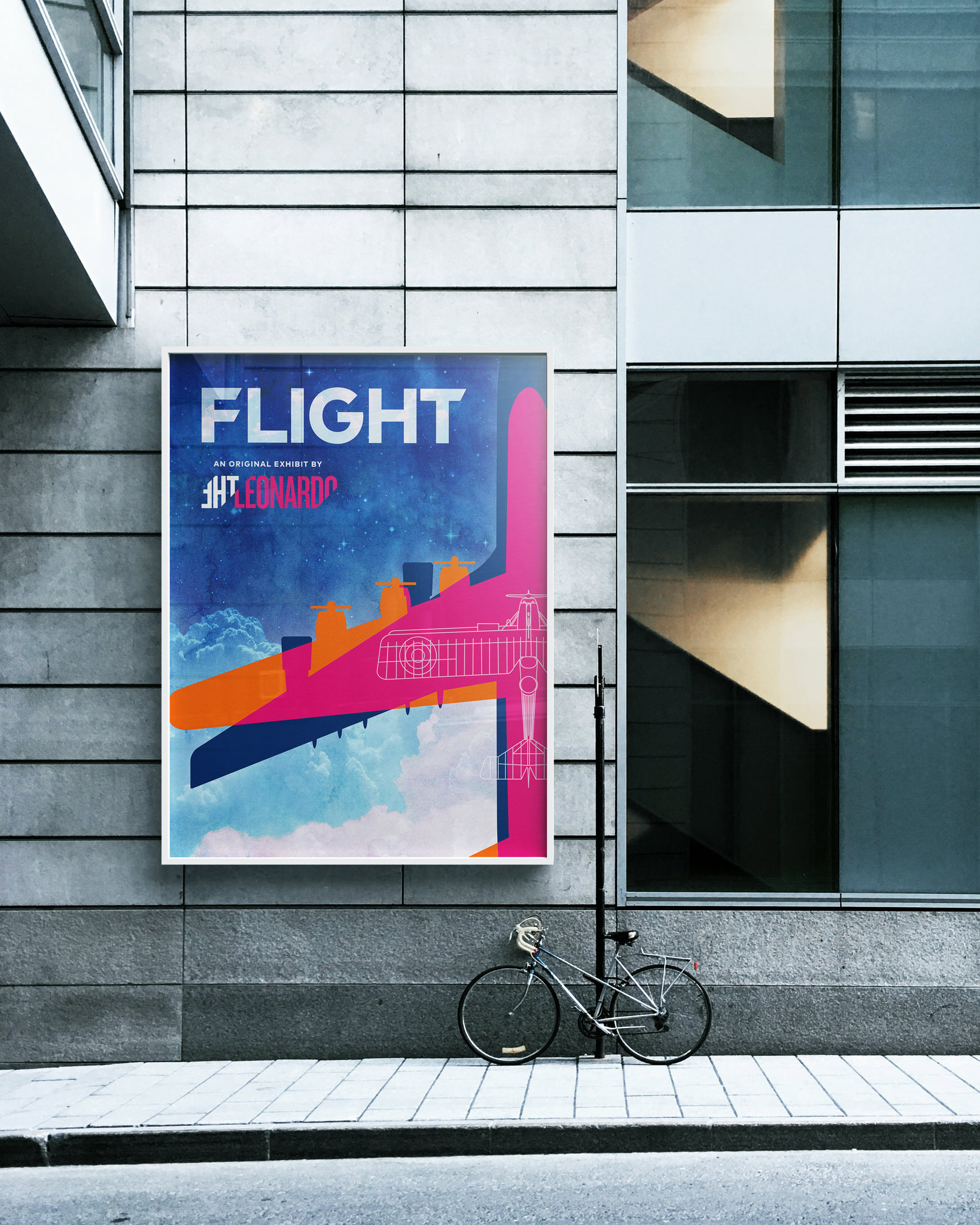 FLIGHT logo branding - Glass Poster Case.jpg