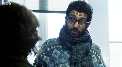 Adeel Akhtar in The Night Manager (BBC One)