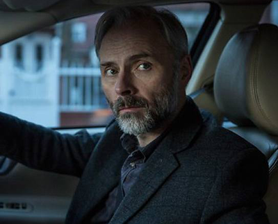 Mark Bonnar in Apple Tree Yard (BBC One) -