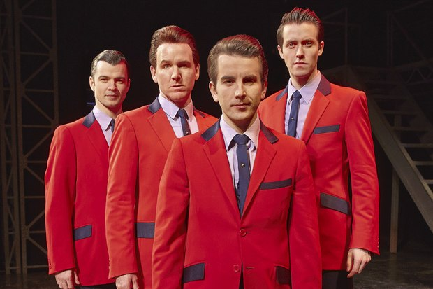 Matt Nalton and Joseph Prouse in Jersey Boys (WestEnd) -