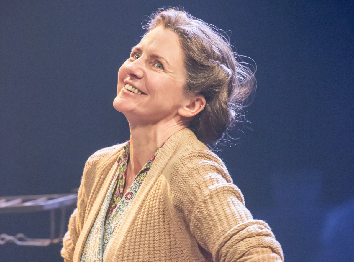 Clare Burt in Flowers for Mrs Harris (Crucible, Sheffield)