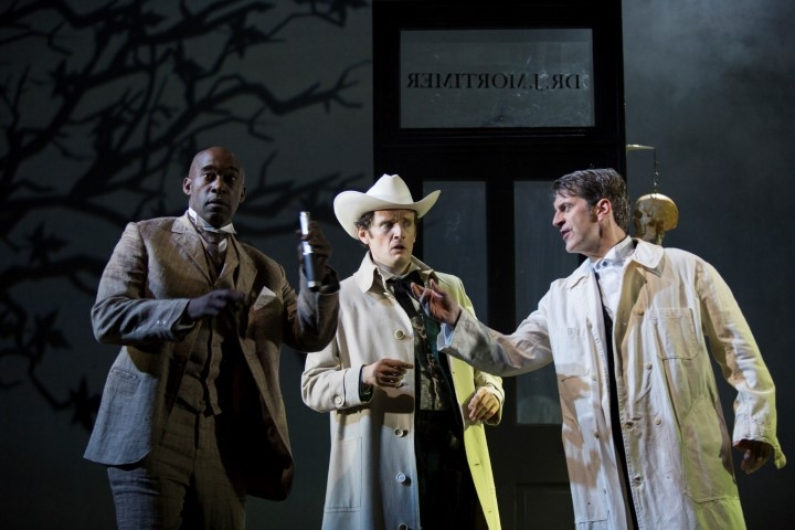 Edward Harrison in Baskerville (Liverpool Playhouse)