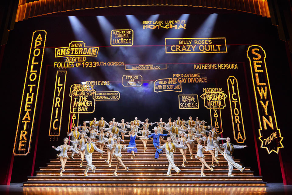 Katharine Pearson in 42nd Street (West End)