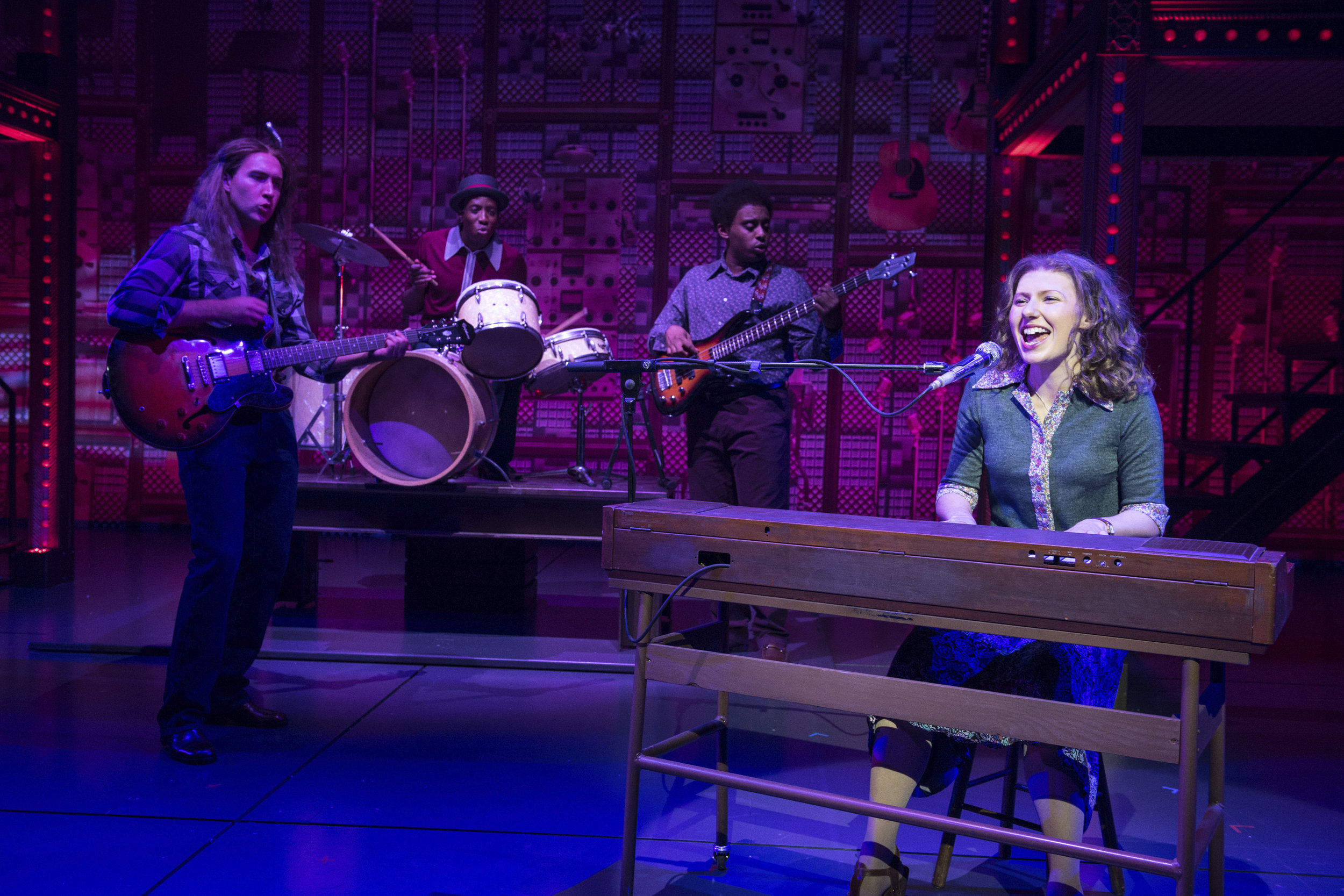 Bronté Barbé as Carole King in Beautiful The Musical