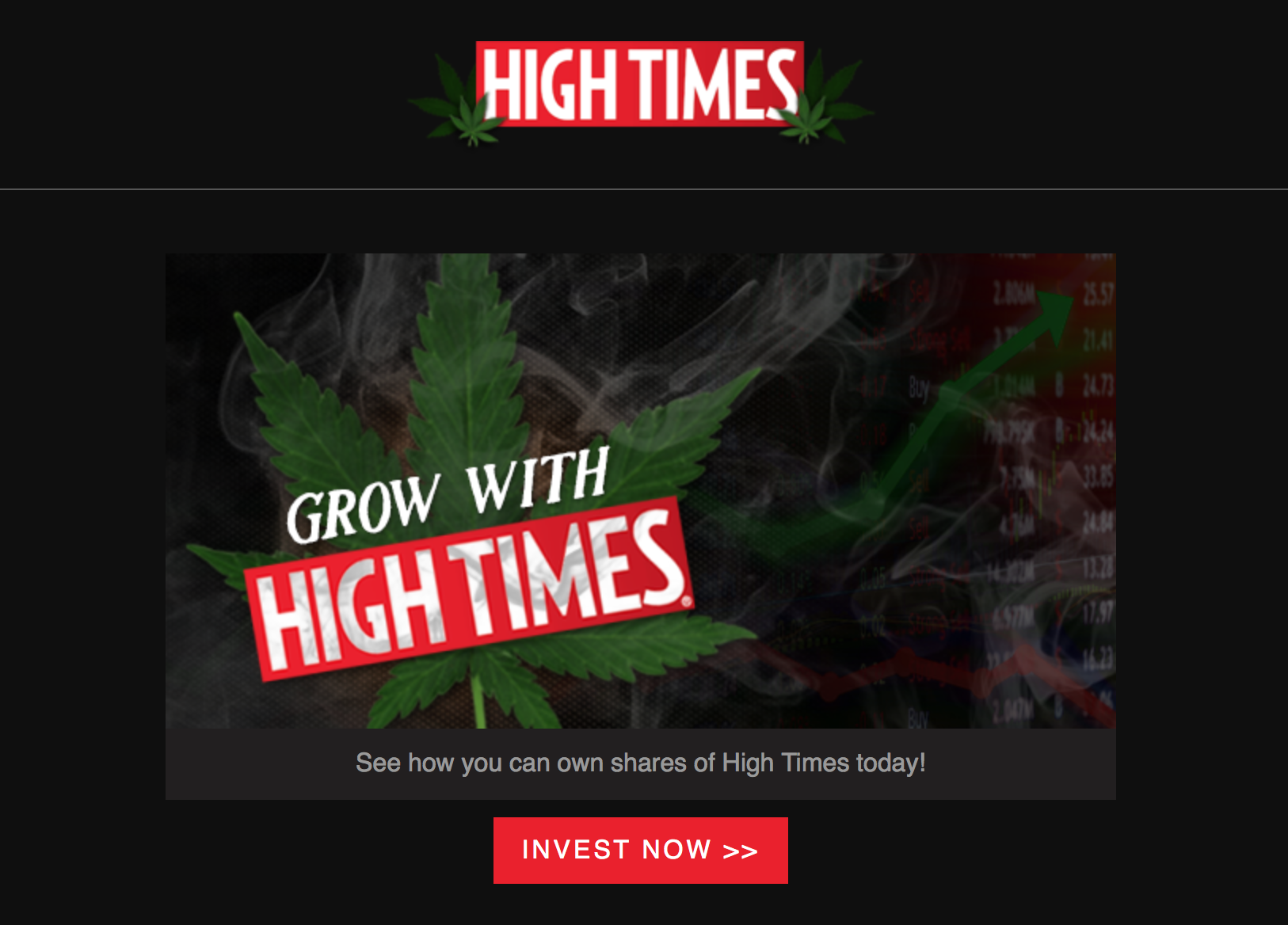 September 05, 2018 | high times - become a shareholder of high times