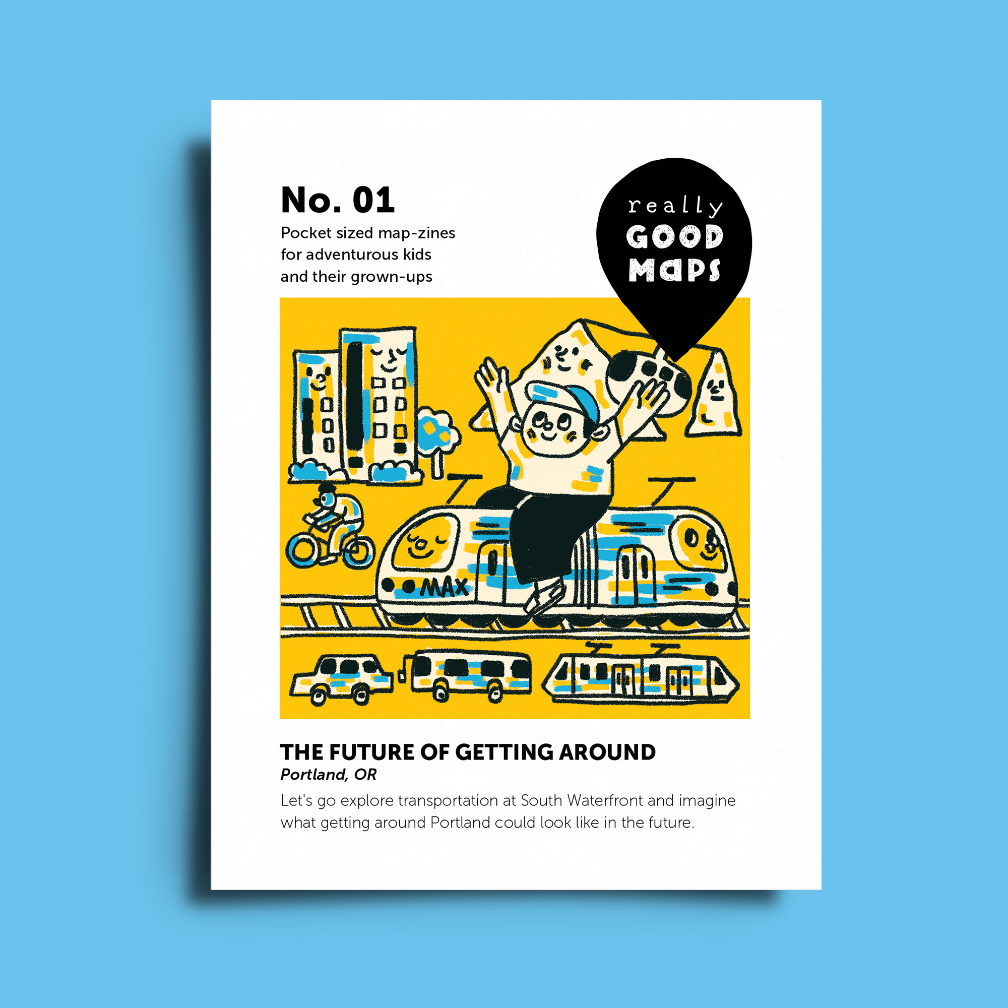 No. 01  The Future of Getting Around
