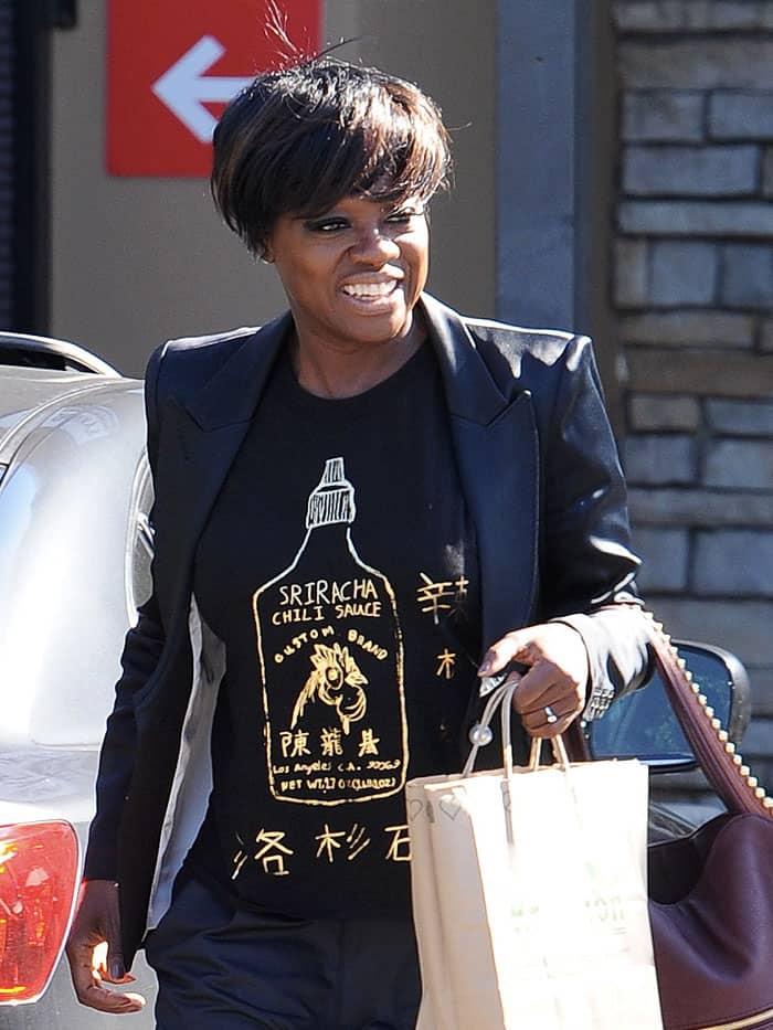 Viola-Davis-sriracha-sauce-t-shirt-gold-creepers.jpg