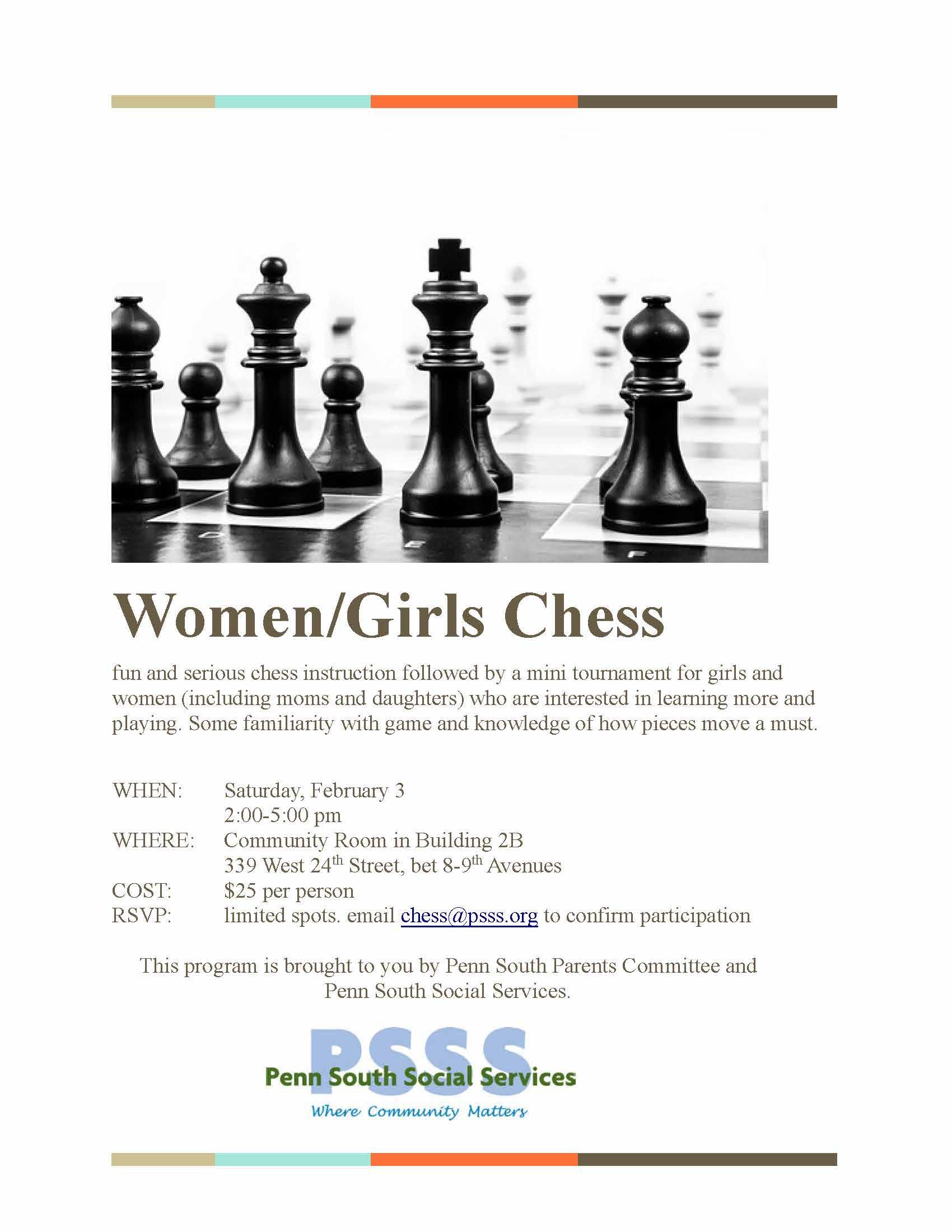 girls chess