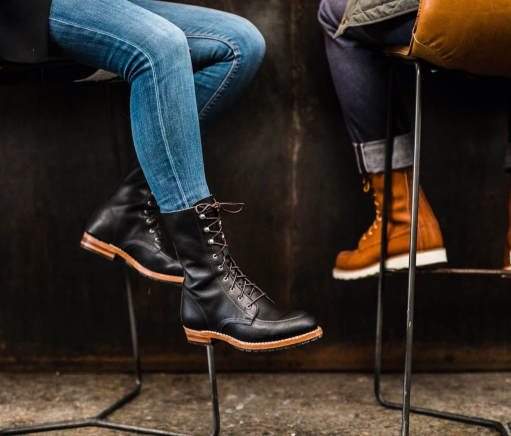Redwing Heritage - For women… coming to the shop Fall 2019!  Red Wing Heritage creates lifestyle footwear and leather goods with an enduring commitment to American craftsmanship. Their boots and shoes are made for modern men and women with over a century of archival inspiration stitched into each pair.