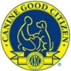 AKC canine good citizen badge