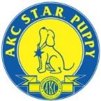 akc star puppy badge
