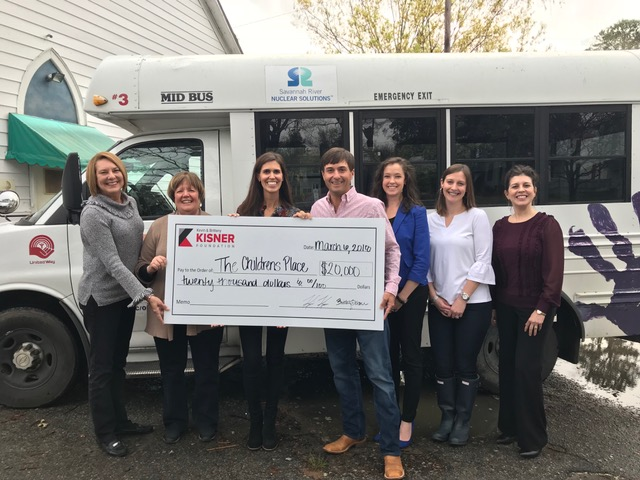 Children's Place, Inc.   The Kisner Foundation awarded $20,000 for the purchase of a new bus.