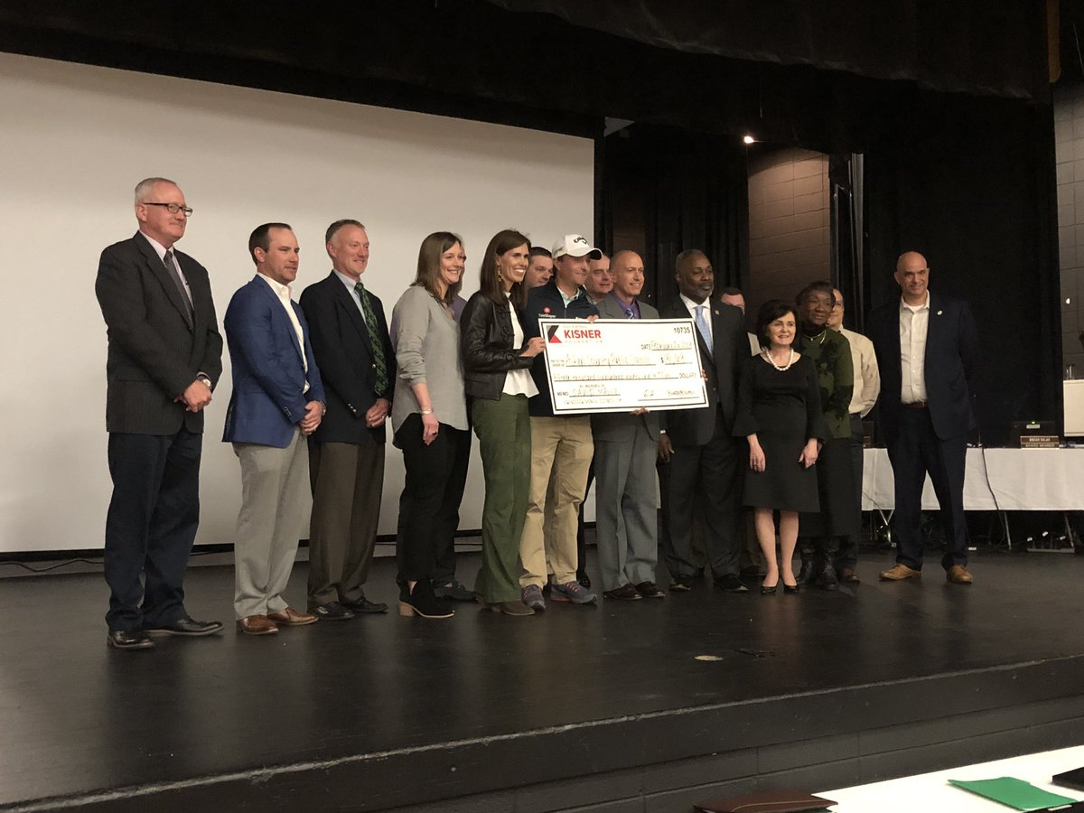 Aiken County Public Schools   The Kisner Foundation awarded $15,691 to ACPS for concussion testing on all student athletes!