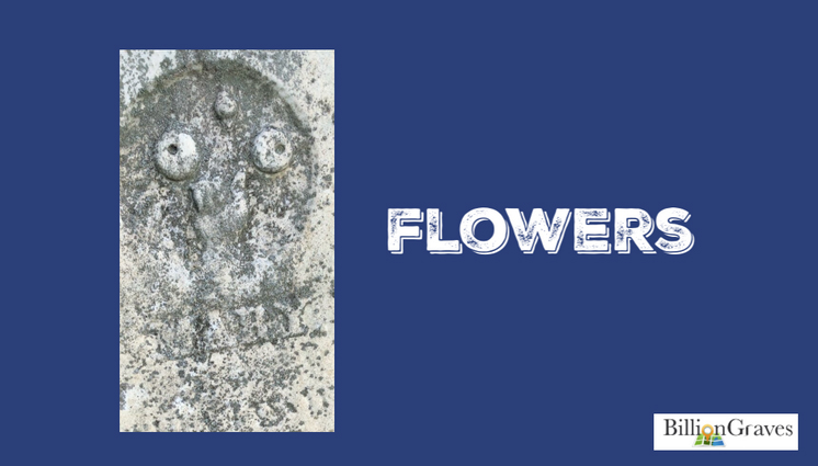Flowers - Flowers can symbolize that the deceased was in the full bloom of life.