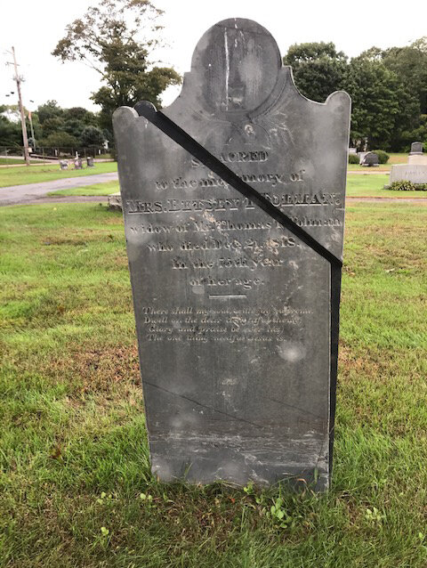 The before photo of our first stone repair. We will post updates to our  Headstone Repair Gallery  as we move forward with this wonderful project.