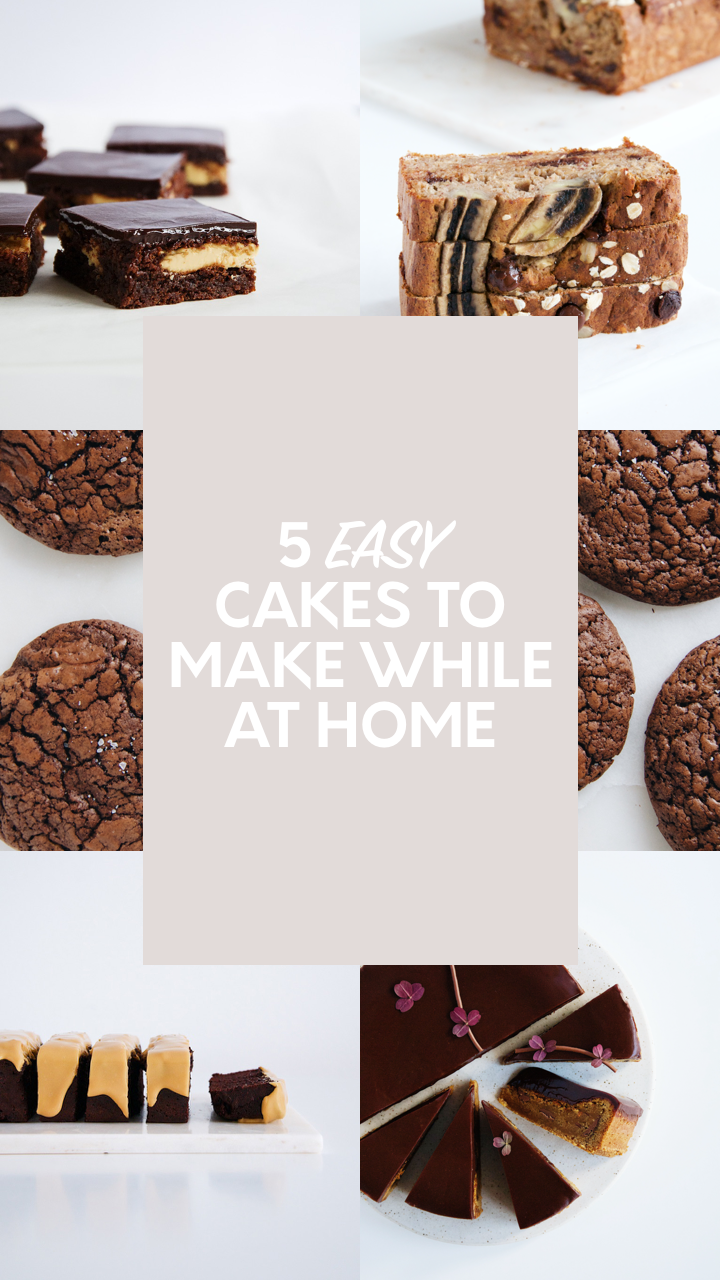 Fast Easy 5 Cakes To Make While At Home Julie Marie Eats