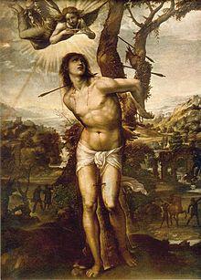 Saint Sebastian, Patron Saint of Athletes