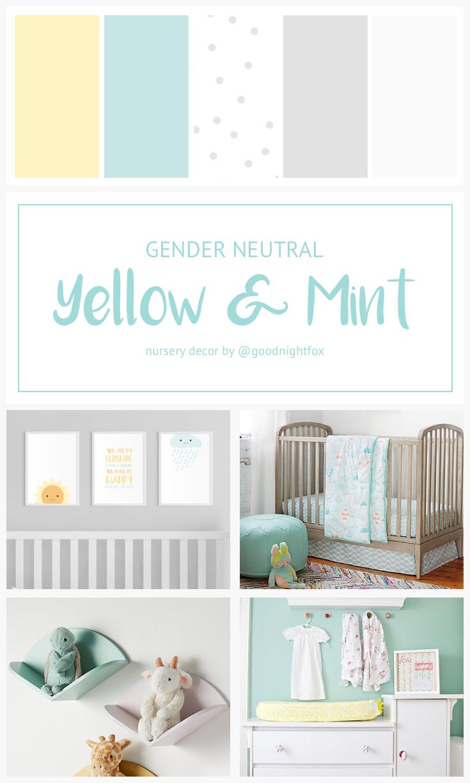 Nursery Color Palette Blog Goodnight Fox
