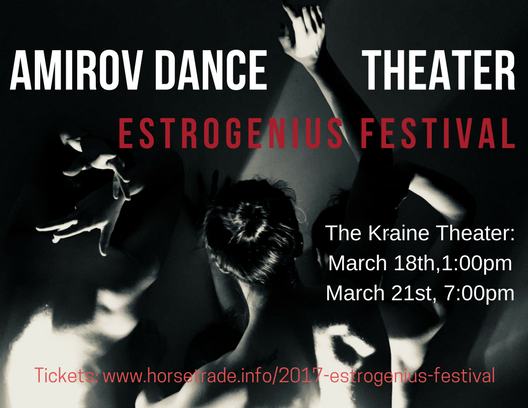 Mar. 18-21, 2018 - 1:00 PM ; 7:00 PM The Kraine Theater (map)